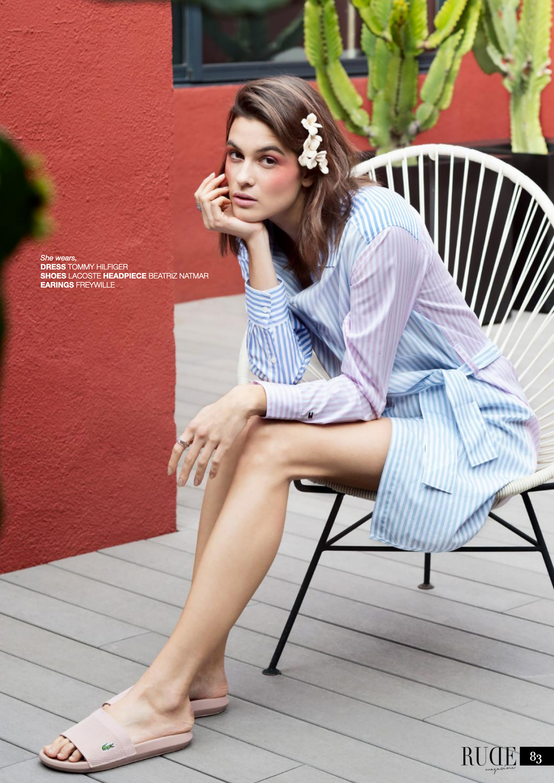 Horquillas de piel de Beatriz Natmar en Rude Magazine