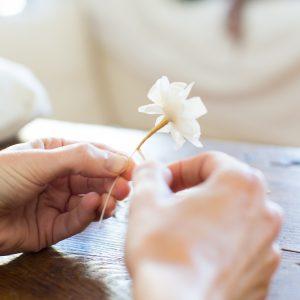 Curso de Flores artesanales